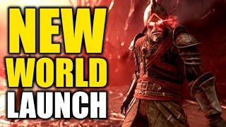 NEW WORLD LAUNCH | Amazon Games New World MMO Gameplay