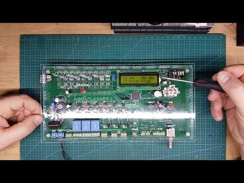 AQUAPLANNER настройка LED каналов