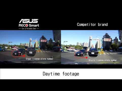 ASUS RECO SMART Portable Car Cam - 比較片段