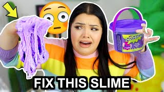 FIX THIS STORE BOUGHT SLIME CHALLENGE! Make this Putty Pretty!
