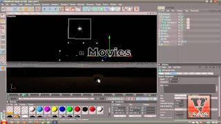 Como Editar uma Intro no Cinema 4D. (HD)