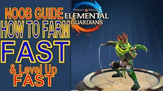 How To Farm Fast (Noob Farmer Guide) - Might and Magic Elemental Guardians