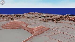 奈良県立橿原考古学研究所と航空測量会社「アジア航測」(東京)は、「...
