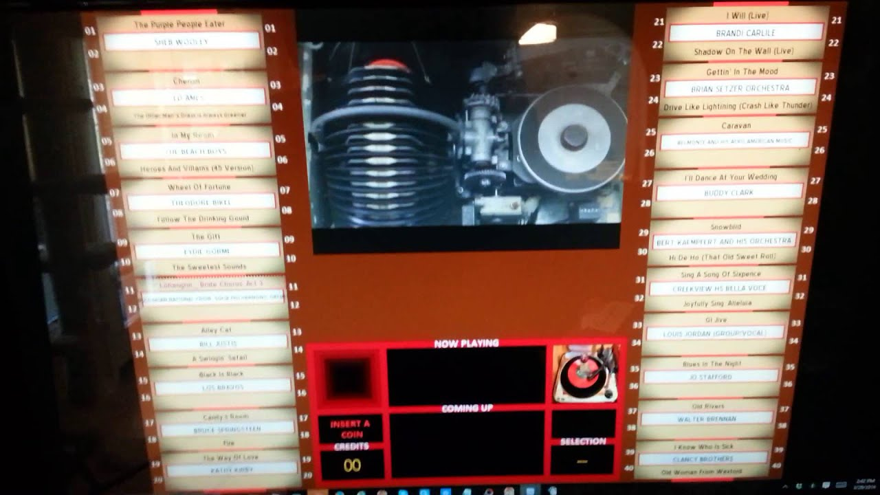 Dwjukebox with video played by smplayer