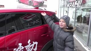 Обзор Mazda CX-3 2018 Устами ребенка
