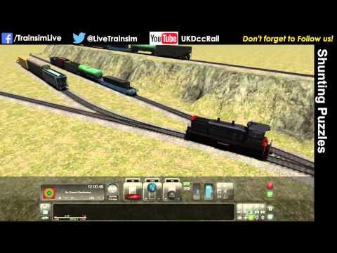 Train Simulator 2015 Tutorial - Shunting Puzzles