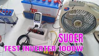 🔦 Kích 1000W - INVERTER 1000w Suoer Test cho Khách Và Cái Kết...