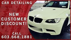 Car Detailing in Manchester NH - Online Discount - Northeast Detailing