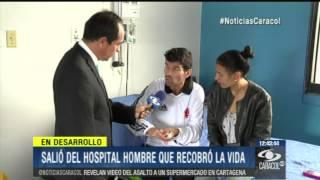"""""""Vi el cielo y el infierno"""": hombre que duró 45 minutos clínicamente muerto - 15 de Noviembre 2013"""