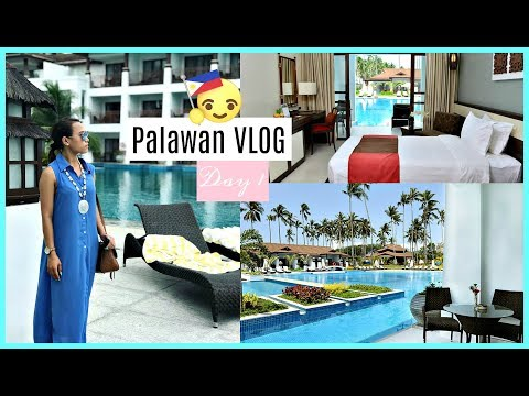 PALAWAN VLOG DAY 1 | FIRST TIME KO SA PALAWAN + MAGANDANG RE