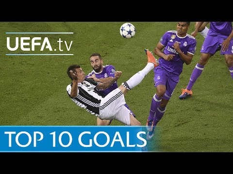 Uefa champions league 2016/17 - top ten goals