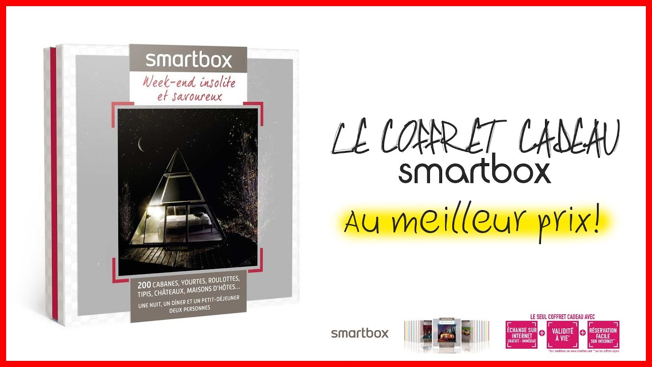week end insolite et savoureux coffret cadeau smartbox youtube. Black Bedroom Furniture Sets. Home Design Ideas