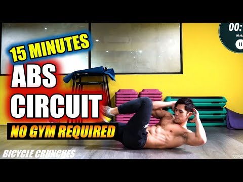 15 minute Abs Workout Routine (Level 3)