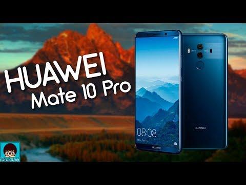 Анонс Huawei Mate 10 Pro - достойные флагманы с отличной камерой!