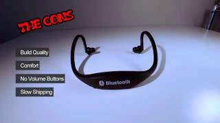 6$ AliExpress Bluetooth Headphones Product Review - Original S9 Sport Wireless Bluetooth 4.0