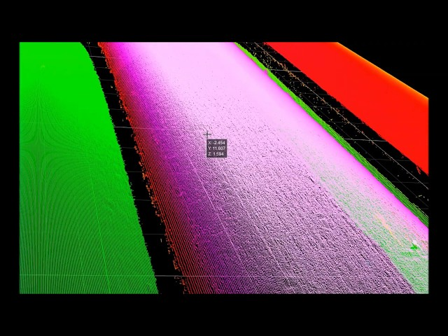 Transparent Glue Bead Scanning