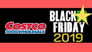 COSTCO Black Friday 2019