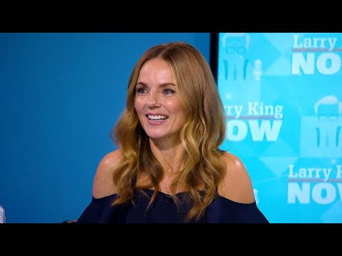 Geri Halliwell turns the (interview) tables on Larry! | Larry King Now | Ora.TV