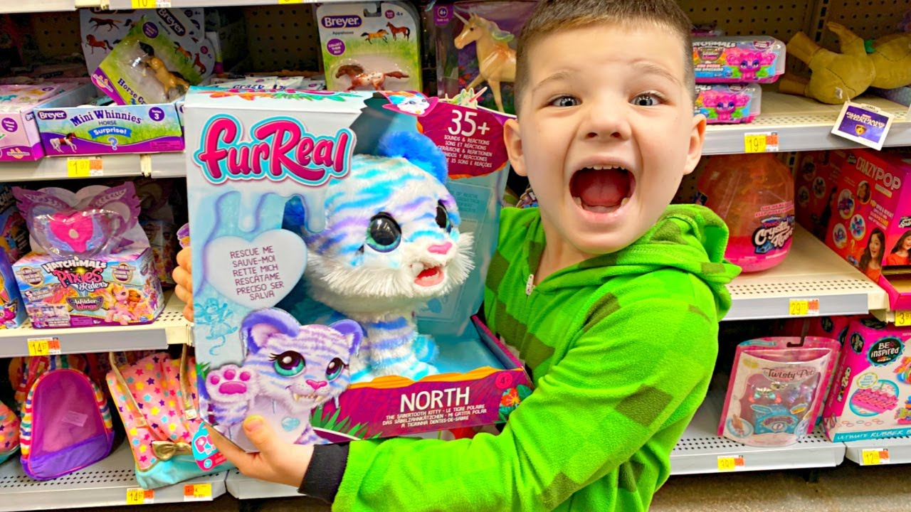 BUYING ANY TOY YOU WANT at REAL TOY STORE! Toy Shopping at Walmart with Caleb and MOMMY!