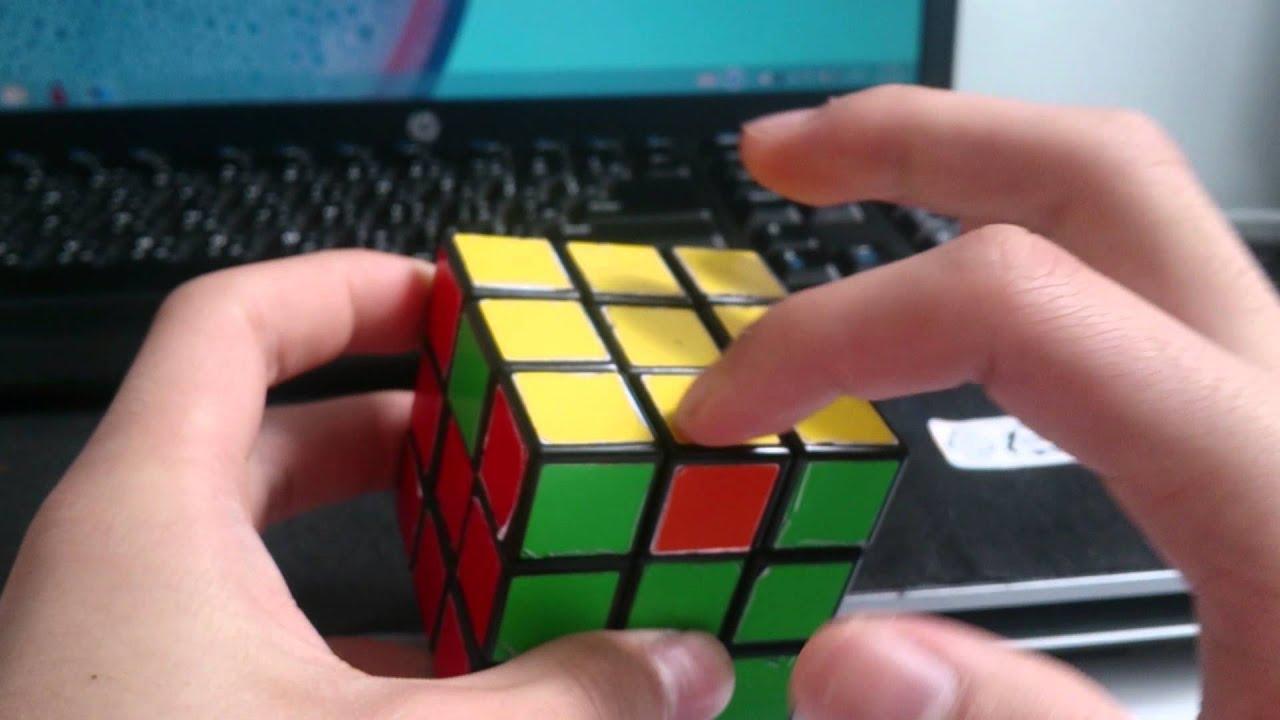 3x3扭計骰第三層 最後一步 解,四邊錯(左右) - YouTube