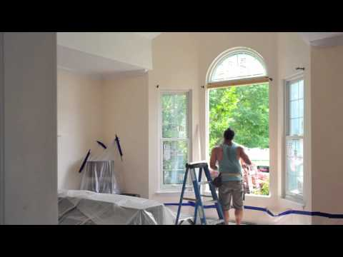 Circle Top + Double Hung Windows - Installation and Photos