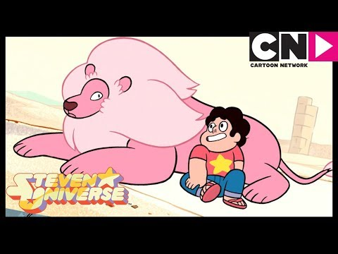 Steven Universe | Steven Finds Lion In The Desert | Steven's Lion | Cartoon Network