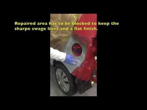 How to repair a car. Suzuki Alto 1/4 Panel Reapir