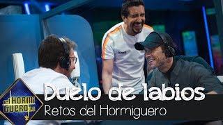 Duelo entre Pablo Motos y Mario Casas por leer los labios - El Hormiguero 3.0