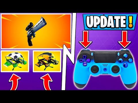 *NEW* Fortnite 7.20 Update! | Early Patch Notes, Console Building, Redeploy! thumbnail