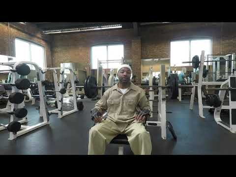"""""""FEDERAL PRISON FLAT BENCH"""" - NATIONAL HEAVY DAY - POWERHOUSE GYM - Jersey City, NJ - Fit Over 50"""