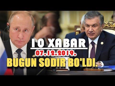 Shavkat Mirziyoyevdan Yangi Xabar Va Bugun Dunyoda Bo'layotga Yangiliklar...