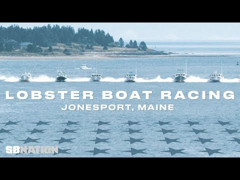 Racing on board the world's fastest lobster boats in Maine