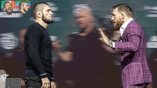 Body Language Analysis McGregor vs Khabib Faceoff