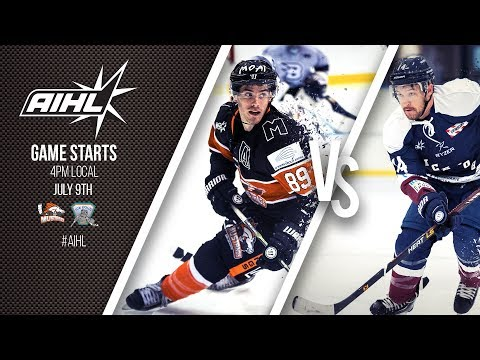 AIHL Live Game 67: Sydney Ice Dogs v Melbourne Mustangs (09/07/2017)