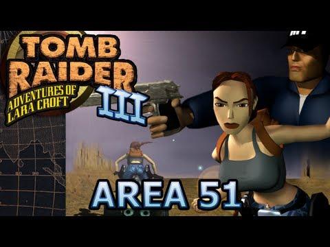 Tomb Raider 3 Vídeo-Guía en Español Nevada - Area 51