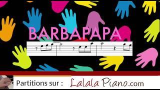 TUTO PIANO Barbapapa (entraînement sur l'intro avec synthesia)