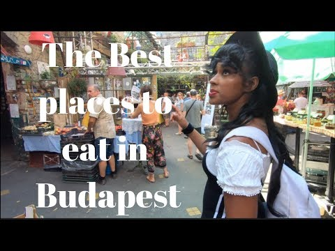 The best places to eat in Budapest