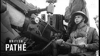 Machine Gun Fires Shells (1940)