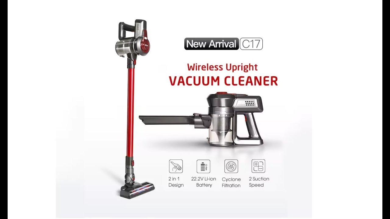 Dibea C17 2 In 1 Wireless Vacuum Cleaner