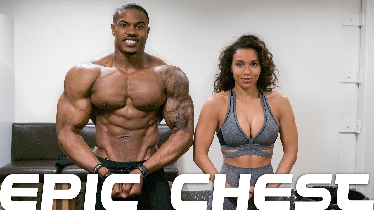EPIC CHEST | Killed it with my girl | Simeon Panda & Chanel Coco Brown
