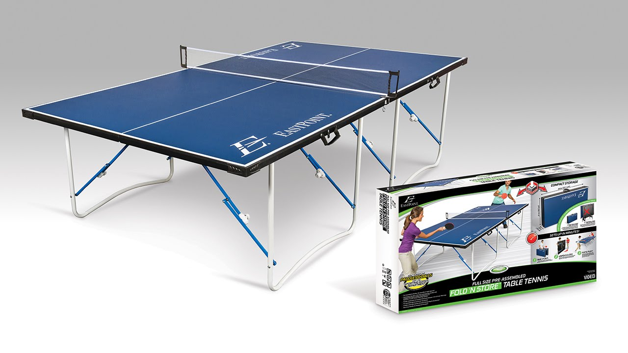 EastPoint Sports Fold U0027N Store 12mm Table Tennis Table