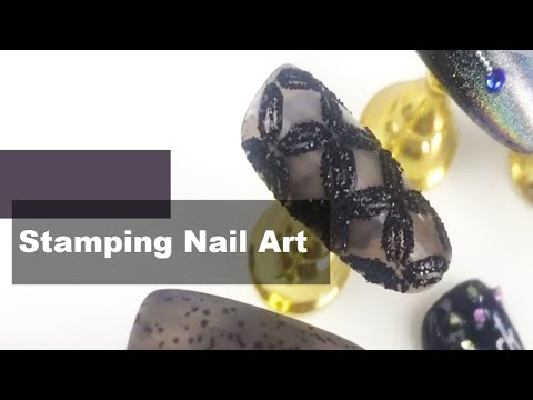 Nail Art for Beginners: Stamping Nail Art Tutorial thumbnail