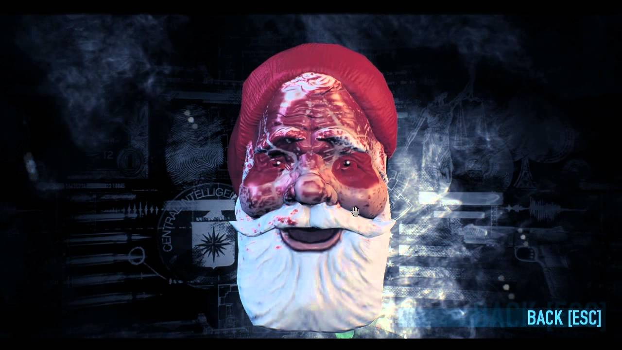 Payday 2: Christmas Round-Up (Prize Winner Details) - YouTube
