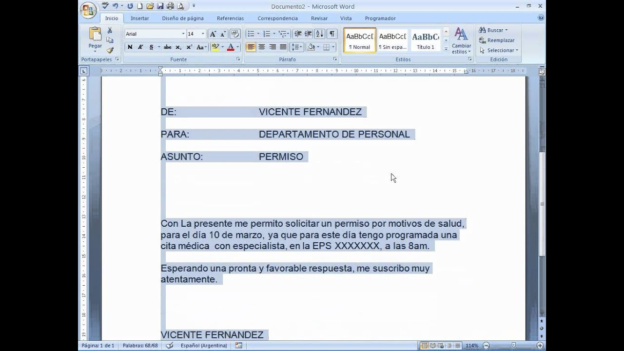 Increíble Plantillas De Memo Por Word Viñeta - Colección De ...