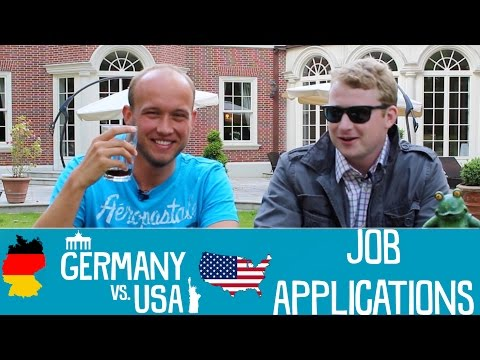 Job Applications - Germany vs USA