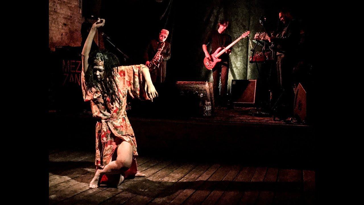 Soft Paranoise  Music - Paranoise Crew, Nazgulya Shukaeva, Butoh-dance  Irina Avdeyeva (Part 2)
