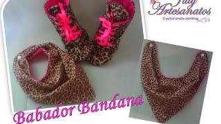 Babador Bandana – passo a passo