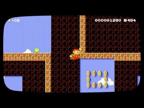 P-up Mario!S-1 Special Shroom By Raidbrah - SUPER MARIO MAKER - NO COMMENTARY 1bf