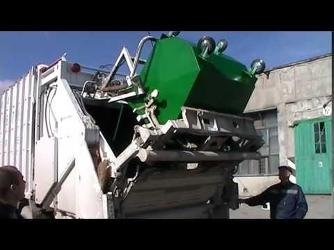 Евроконтейнер для мусора 1,1 м3
