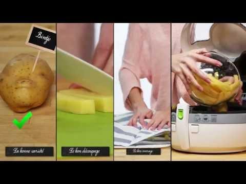 comment r ussir de bonnes frites croustillantes avec actifry youtube. Black Bedroom Furniture Sets. Home Design Ideas